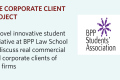 Corporate client project BPP Legal Awareness Society LegalAware