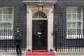 Policeman At No. 10 Downing Street, UK